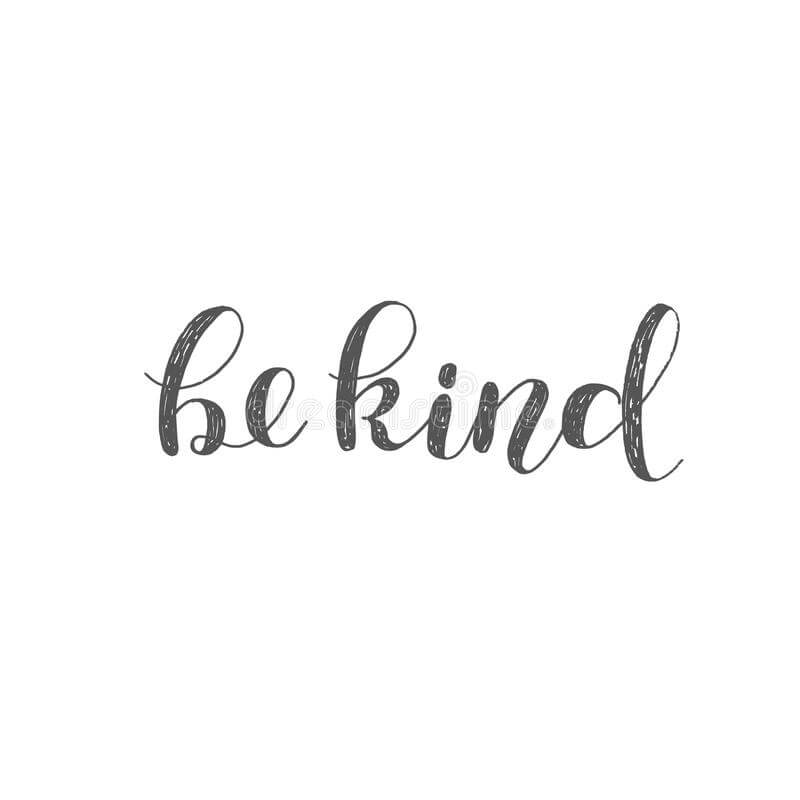 Download be-kind-brush-lettering-hand-inspiring-quote-motivating ...